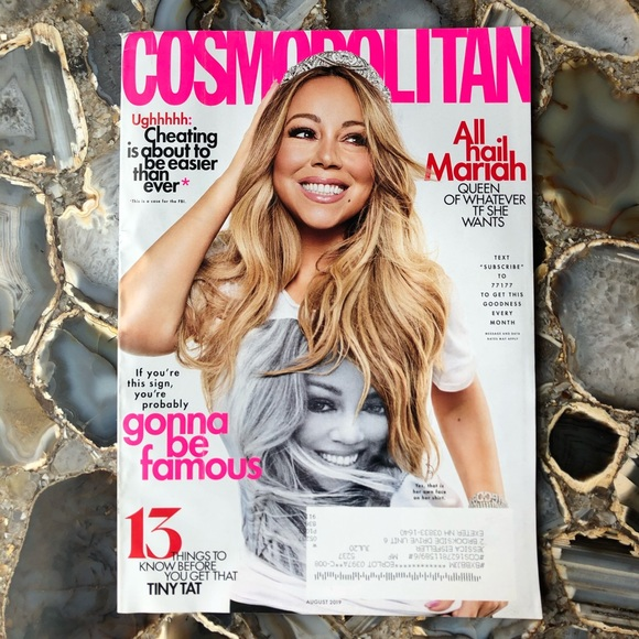 4️⃣/$12 August 2019 Cosmopolitan Magazine